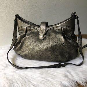 Louis Vuitton Metallic Mordore Mahina Leather Bag